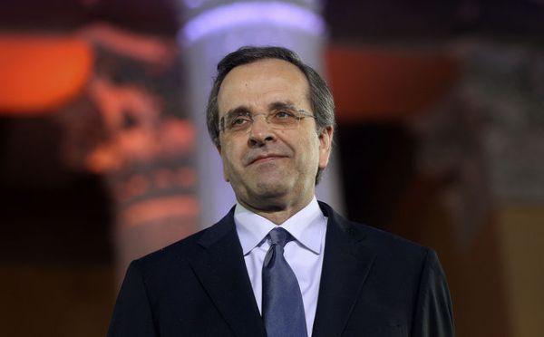 Antonis Samaras, del Partido Nueva Democracia, se convirtió en el nuevo Primer Ministro de Grecia tea formar un gobierno de coalición tripartita.Fuente: Bloomsberg