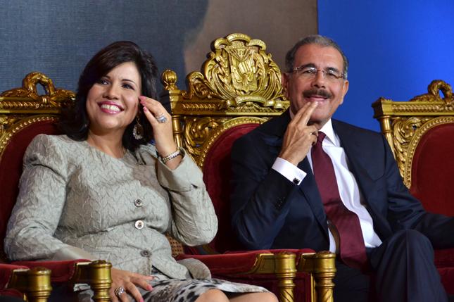 Danilo Medina y Margarita Cedeño, la fórmula ganadora de los comicios celebrados en República Dominicana el 20 de mayo de 2012
