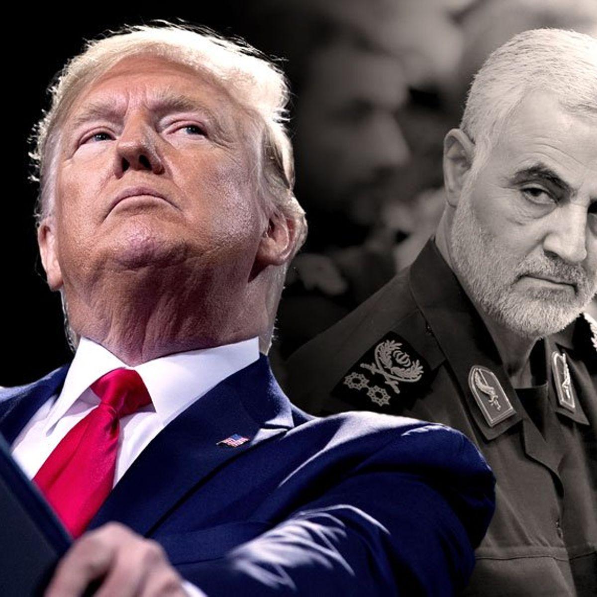 Emiten orden de arresto contra Donald Trump por asesinato de Qassem Soleimani